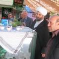 تجديد ميثاق پرسنل جهاد با  شهدا در  اولین روز کاری ۹۳