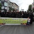 بانوان نکایی در حمایت ازعفاف و حجاب راهپیمایی نمودند