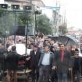 راهپیمایی مردم نکادراعتراض به توهین نبی مکر اسلام (ص)/عکس