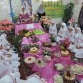 جشن عبادت دختران مدرسه شهيدمددپور گلبستان نكا/عكس/