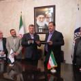 امضای تفاهم نامه ی همکاری بین اتاق اصناف مرکز مازندران و بانک ملی