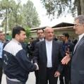 بازدید سفیر ایران در ترکمنستان ازسیمان نکا+تصویر