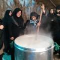 مراسم حلیم پزی در روستای سمسکنده علیا ساری / تصویر