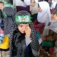 همنوایی با رقیه امام حسین از سوی سه ساله های نکایی+تصویر