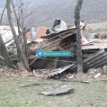 طوفان در پی رجه و هزارجریب خسارت وارد کرد/تصویر