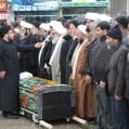 مردم قدرشناس نکا پیکرحجت الاسلام صادقی را تشییع کردند/ تصویر