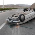 تصادف شدید پژو پارس در هزارجریب نکا