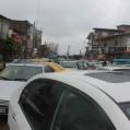 معضل ترافیک در نکا روز به روز افزایش می یابد+تصویر