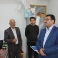 بازدید فرماندار ازستاد انتخابات شهرستان نکا/تصویر