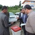 ارسال صندوق آراء به مناطق بالا دست هزار جریب نکا/تصویر