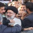 حضور حجت الاسلام رئیسی درجمع مردم نکا/ تصویر
