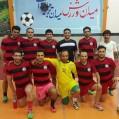 قهرمانی تیم فوتسال نیروگاه نكا درمسابقات جام رمضان مازندران