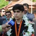 استقبال مردم نکا ازنائب قهرمان مسابقات  آسیایی تکواندو/ تصویر