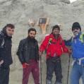 تیم کوهنوردی نکا ،بر بام ایران