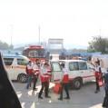 مانور زلزله و ایمنی درمدارس نکا برگزار شد/ تصویر