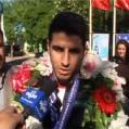 احمدنریمانی ملی پوش دسته ۷۵+نشان طلا گرفت
