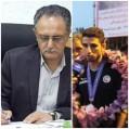 پیام تبریک رئیس بهزیستی نکا به احمد نریمانی قهرمان پاراتکواندو