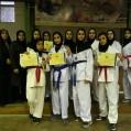 درخشش کارته کاران نکا در مسابقات استانی