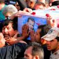 تشییع سی نهمین شهید مدافع حرم استان مازندران در نکا