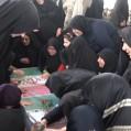 استقبال و وداع با شکوه مردم بستانخیل نکا از شهید خوشنام