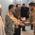باحضورخانواده ها ،ازسربازان نمونه پادگان شهدای ارتش تجلیل شد