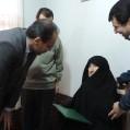 دیدار مدیرکل صدا وسیمای مازندران با خانواده محترم شهید لقمانی / تصویر