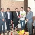حسین زادگان  از طرح های نیمه کاره اماکن ورزشی نکا بازدید کرد