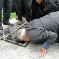 بزرگداشت پدران آسمانی در نکا در سکوت محض رسانه ایی برگزار شد/ تصویر