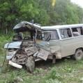 تصادف خونین کارگران شالیزار در نکا/ تصویر