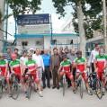 اردوی تیم ملی دوچرخه سواری سرعت در نکا / فیلم