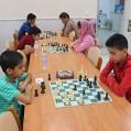 برگزاری اولین دوره مسابقات شطرنج حضوری و آنلاین در نکا / تصویر