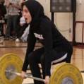 کسب نخستین مدال وزنهبرداری توسط بانوی مازندران