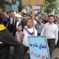 برگزاری همایش پیاده روی خانوادگی درنکا درسالروز ورود آزادگان / عکس