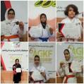 درمسابقات انتخابی آسیاییِ؛دختران کاراته کاهای نکایی طوفان به پا کردند/ عکس