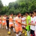 مسابقات فوتبال جام شهدای هزارجریب درروستای محسن آبادنکا/ عکس