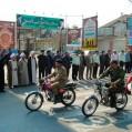 رژه خودرویی و موتوری به مناسبت هفته دفاع مقدس در نکا برگزار شد/ فیلم