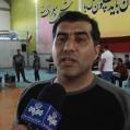 مسابقات ورزشی قویترین مردان مازندران درنکا/ تصویر