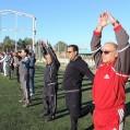 اجرای ورزش  صبحگاهی در نکا +تصویر