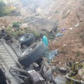 سقوط مرگبار پاترول در هزارجریب نکا ۷ کشته و مجروح بر جای گذاشت / عکس