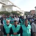 بازگشت افتخار آفرین خادمین موکب انصار الحسین از کربلا/ تصویر
