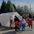 مانورسراسری زلزله ویژه نونهالان مهدهای نکا برگزارشد/ تصویر