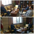 مدیر عامل نیروگاه شهید سلیمی نکا با مدیر کل سازمان صدا و سیمای مرکز مازندران دیدار کرد