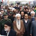 """حضور """"بینظیر"""" مردم نکا در راهپیمایی ۲۲ بهمن (فجر ۴۰) ۴۰/عکس"""