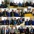 مدیران دستگاههای اجرایی شهرستان نکا با امام جمعه دیدار نمودند(فجر ۴۰)۷/ تصویر