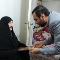 حضور مدیرکل صدا و سیما مرکزمازندران دربیت شهید لقمانی (فجر ۴۰)۲۶/ تصویر