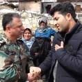 کمک رسانی نیروی های ارتش درمناطق کوهستانی هزارجریب نکا/ ویدئو و عکس