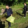 پیاده روی و پاکسازی جنگل ازسوی کارکنان شبکه بهداشت و درمان نکا/ تصویر