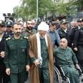 راهپیمایی نمازگزاران جمعه نکا در حمایت از سپاه پاسداران/ ویدئو + عکس