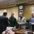 قدردانی شهردار نکا از پاسداران و جانبازان سر افراز انقلاب / تصویر