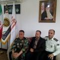 دیدار فرماندهی وکارکنان سپاه پاسداران  و فرماندار شهرستان نکا/ تصویر